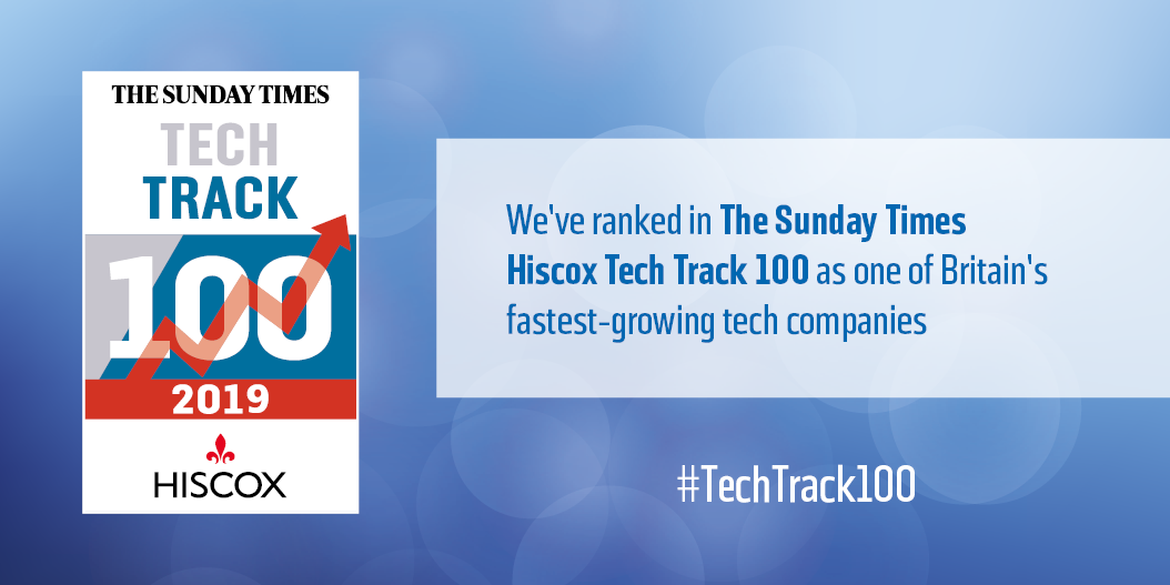 Currencycloud features in The Sunday Times Hiscox Tech Track 100
